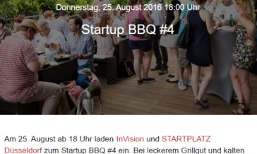 Warum ich bei 33° lieber zum Startup BBQ gehe als in den Park