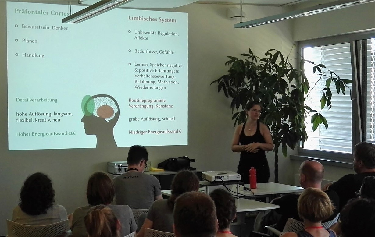 """UX Camp West 2016 - Katja Busch """"Hirnforschung & Konflikte in Veränderungsprozessen"""""""